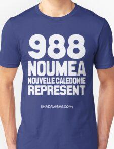 988 Nouméa Nouvelle-Calédonie Represent Unisex T-Shirt