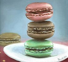 French macarons by tanyabond