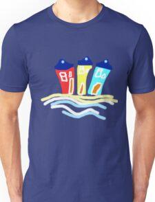 HAPPY BEACH HUTS tee/baby grow Unisex T-Shirt