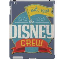 The Disney Crew iPad Case/Skin