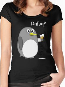 Dafuq? Women's Fitted Scoop T-Shirt