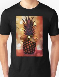 Pineapple with Grill Glasses T-Shirt