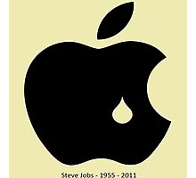 steve jobs in memory Photographic Print