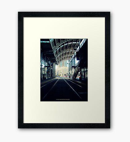 AMERICAS PLAZA Framed Print