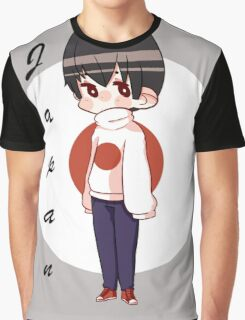 APH Japan - Flag Sweater Graphic T-Shirt