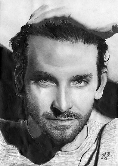 Bradley Cooper portrait by Bianca Ferrando