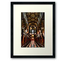 St Johns Walkway Framed Print