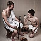 LOA - Hercules and his Boy by Aaron Holloway