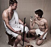 LOA - Hercules and his Boy by A.David Holloway