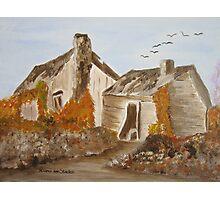 Abandoned house Photographic Print