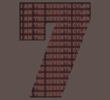 The Seventh Cylon (Now Angry Cylon Red!) by villainy