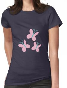 FlutterShy Cutie Mark - My Little Pony Friendship is Magic Womens Fitted T-Shirt
