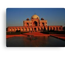 Humayuns Tomb Canvas Print