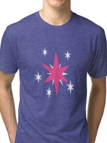 Twilight Sparkle Cutie Mark - My Little Pony Friendship is Magic Tri-blend T-Shirt