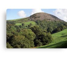 Hills of Llanfairfechan. Canvas Print