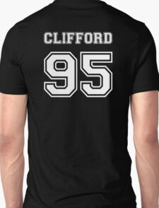 Clifford 95 white ink Unisex T-Shirt