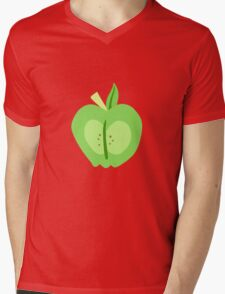 Big Macintosh Cutie Mark - My Little Pony Friendship is Magic Mens V-Neck T-Shirt