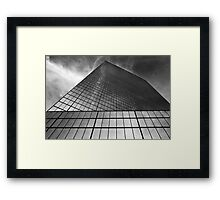 Look Up - Feel Small Framed Print