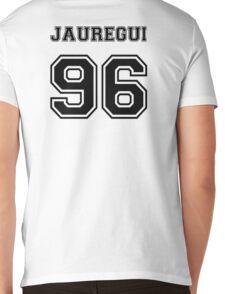 Jauregui 96 Black Mens V-Neck T-Shirt