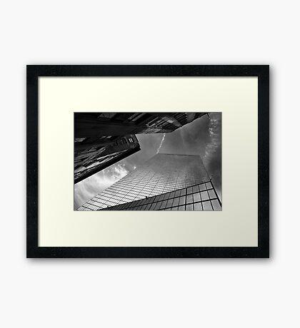 Tethered BW Framed Print