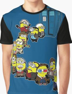 Doc Minion Line Up Graphic T-Shirt