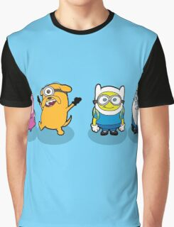Minions Time Graphic T-Shirt