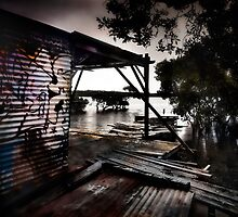 OLD OYSTER SHED 2012 by Dan Coyne