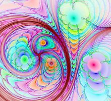 Spherical Colorful Flowers by Beatriz  Cruz
