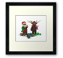 """Have A Very """"Merry"""" Christmas Framed Print"""