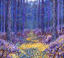 Blue Forest 3 by David Newton