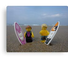 Plastic Surf Canvas Print