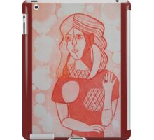 Girl in the Mirror Inspired Red Version iPad Case/Skin
