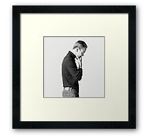 steve jobs the movie Framed Print