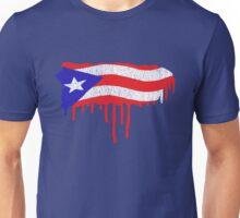 Puerto Rico Paint Drip  Unisex T-Shirt