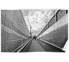 A Walkway in London Poster