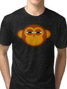 Highly suspicious monkey Tri-blend T-Shirt