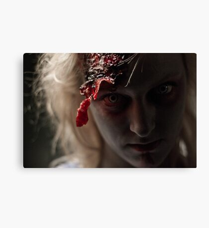 Gemma Hayes - Zombie Canvas Print