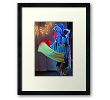 Arts Myths Fashion Show Framed Print