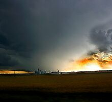 Storm on the Great Planes by Tony Weatherman