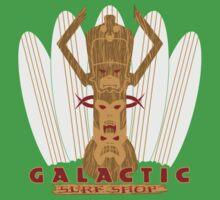 Galactic Surf Shop One Piece - Short Sleeve