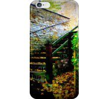 ye old church yard steps  iPhone Case/Skin