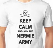 Keep Calm & Join The Nermie Army (White) Unisex T-Shirt
