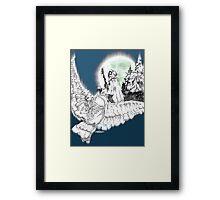 Whisper in the Wind Framed Print