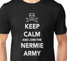 Keep Calm & Join The Nermie Army (Black) Unisex T-Shirt