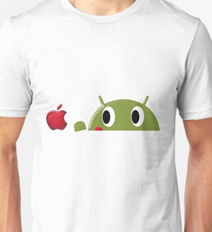 Hungry Android  Unisex T-Shirt