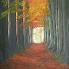 Autumn Path by BrandyHouse