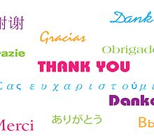 So Many Ways to Say Thanks by ValeriesGallery