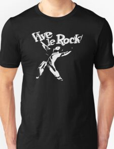 Vive Le Rock! Little Richard black T-Shirt