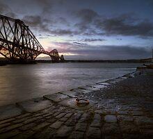 Forth Rail Bridge Sunrise by Stuart Blance