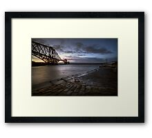 Forth Rail Bridge Sunrise Framed Print